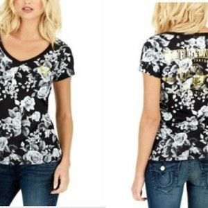 NWT True Religion shirt tee floral sz Large